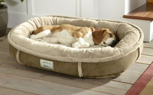 Tempur-Pedic® Wraparound Dog Bed From Orvis